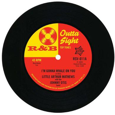 Arthur/ Willie Wright Mathews I'M GONNA WHALE ON YOU/I'M GONNA LEAVE YOU BABY & Vinyl Record