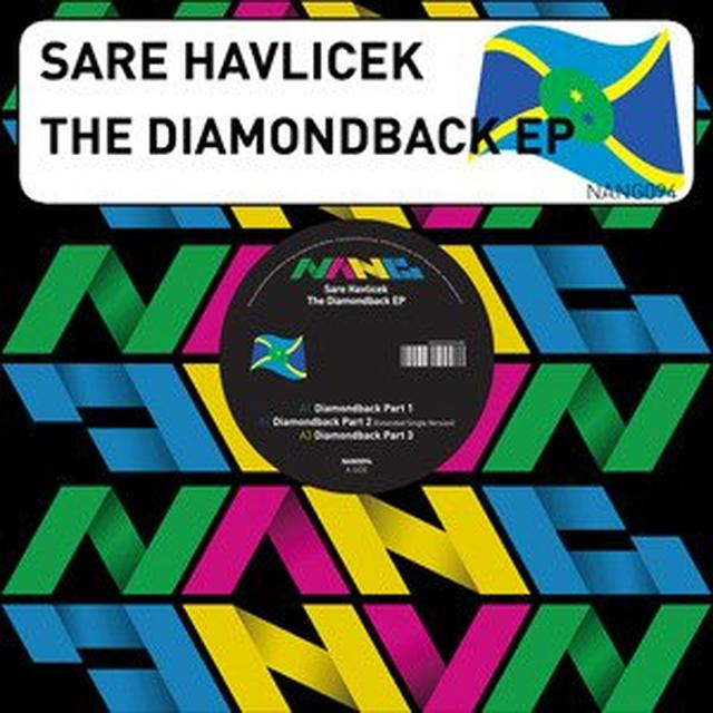 Sare Havlicek DIAMONDBACK EP Vinyl Record - UK Import