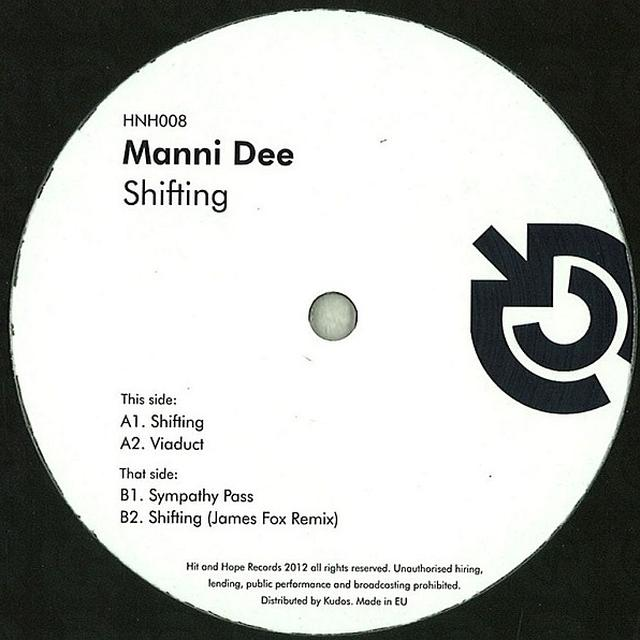Manni Dee SHIFTING Vinyl Record - UK Release