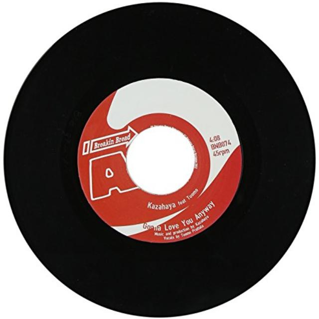 Kazahaya GONNA LOVE YOU ANYWAY Vinyl Record - UK Release