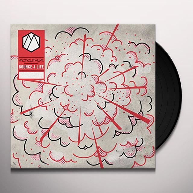 Monolithium BOUNCE 4 LIFE Vinyl Record - UK Release