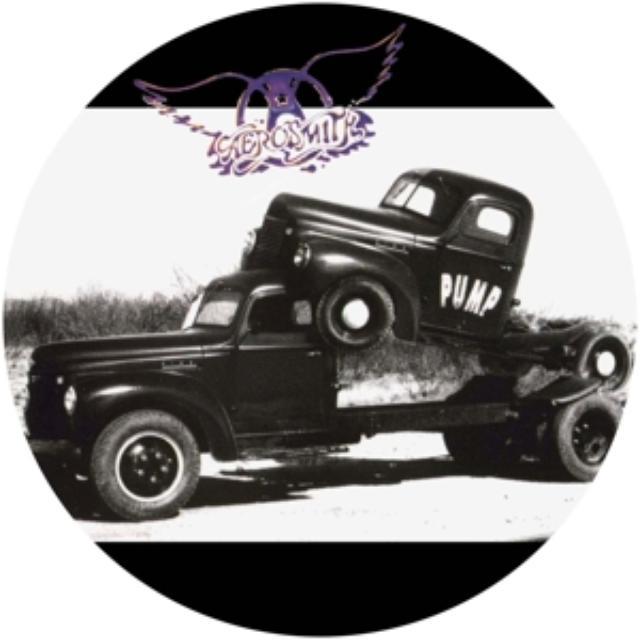 Aerosmith PUMP Vinyl Record - UK Release