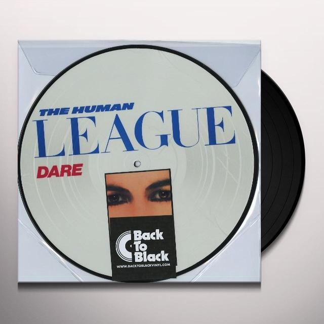 The Human League DARE Vinyl Record - UK Import