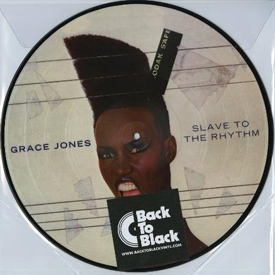 Grace Jones SLAVE TO THE RHYTHM Vinyl Record