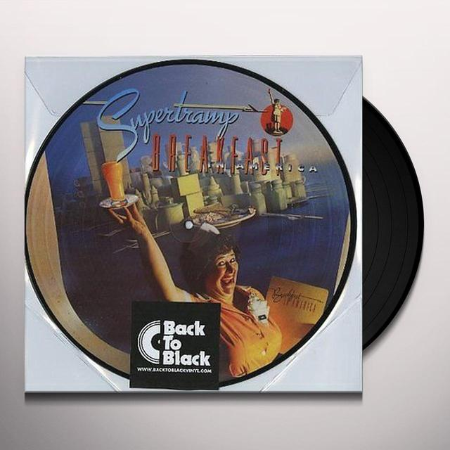 Supertramp BREAKFAST IN AMERICA Vinyl Record