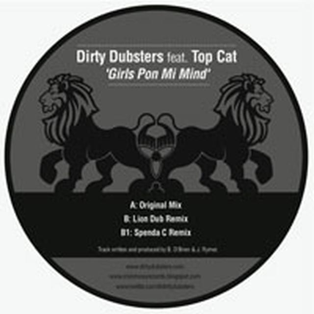 Dirty Dubsters GIRLS PON MI MIND Vinyl Record - UK Release