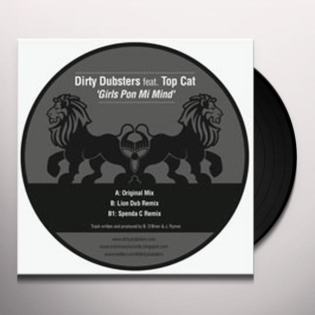 Dirty Dubsters GIRLS PON MI MIND Vinyl Record - UK Import