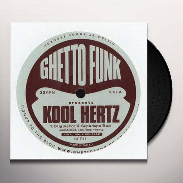 GHETTO FUNK PRESENTS KOOL HERTZ Vinyl Record