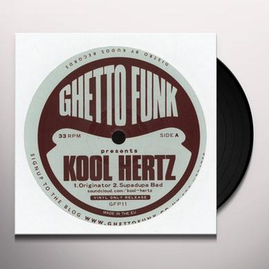 GHETTO FUNK PRESENTS KOOL HERTZ Vinyl Record - UK Import
