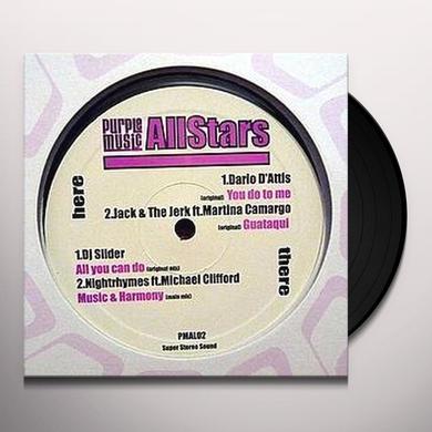 PURPLE MUSIC ALLSTARS 2 Vinyl Record - UK Import
