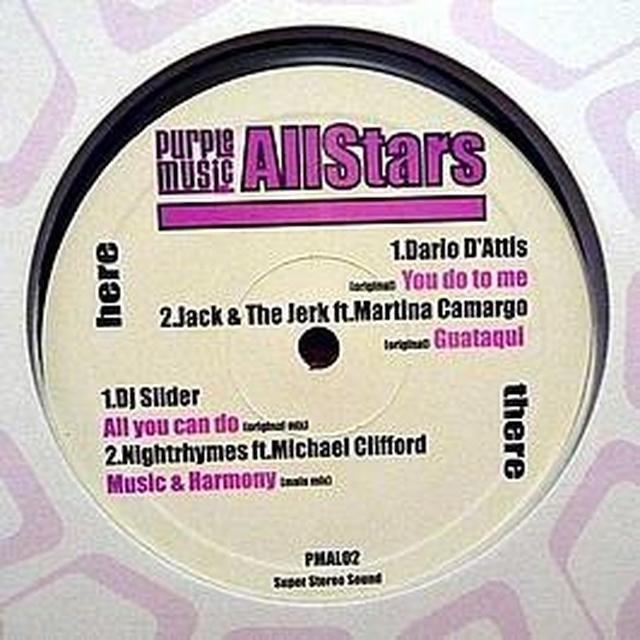 PURPLE MUSIC ALLSTARS 2 Vinyl Record - UK Release