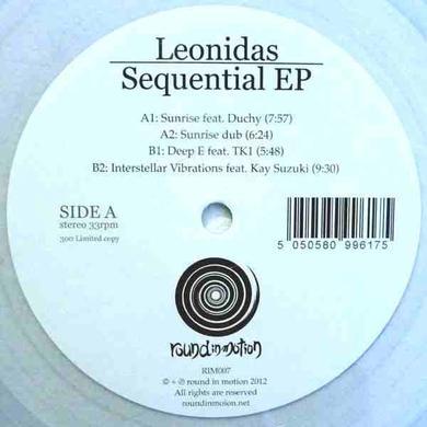 Leonidas SEQUENTIAL EP Vinyl Record - UK Release