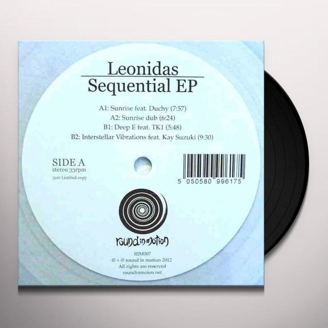 Leonidas SEQUENTIAL EP Vinyl Record - UK Release