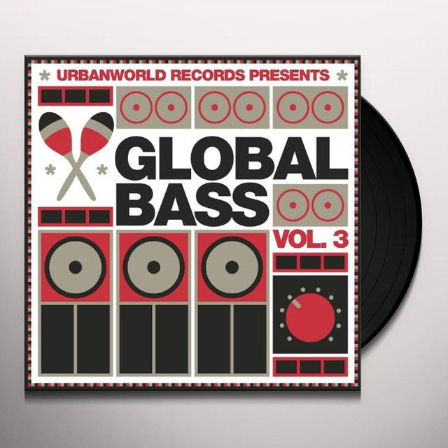 Vol. 3-Global Bass / Various (Uk) VOL. 3-GLOBAL BASS / VARIOUS Vinyl Record - UK Import