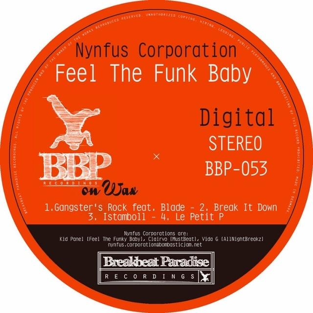 Nynfus Corporation FEEL THE FUNK BABY Vinyl Record - UK Import