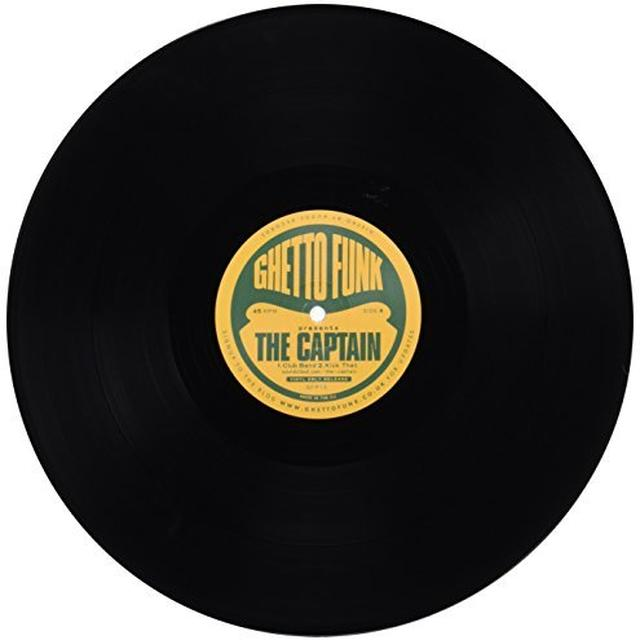 Captain GHETTO FUNK PRESENTS Vinyl Record - UK Release