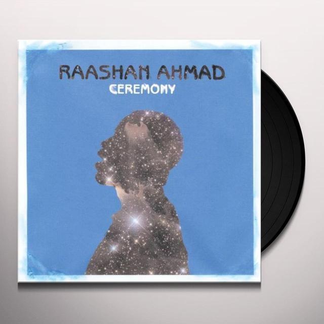 Raashan Ahmad CEREMONY Vinyl Record - UK Import