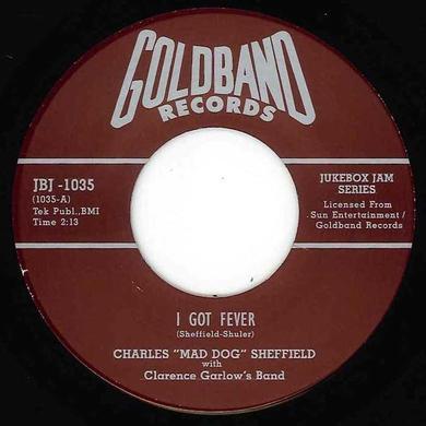 Charles Sheffield GOT FEVER Vinyl Record - UK Release