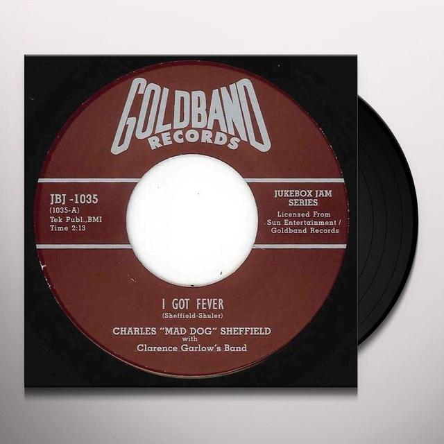 Charles Sheffield GOT FEVER Vinyl Record - UK Import