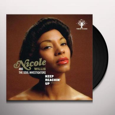 Nicole Willis & The Soul Investigators KEEP REACHING UP Vinyl Record - UK Import