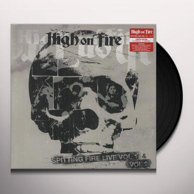 High On Fire VOL. 1-2-SPITTING FIRE LIVE Vinyl Record