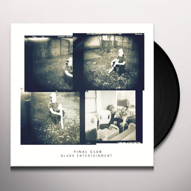 Final Club BLANK ENTERTAINMENT Vinyl Record