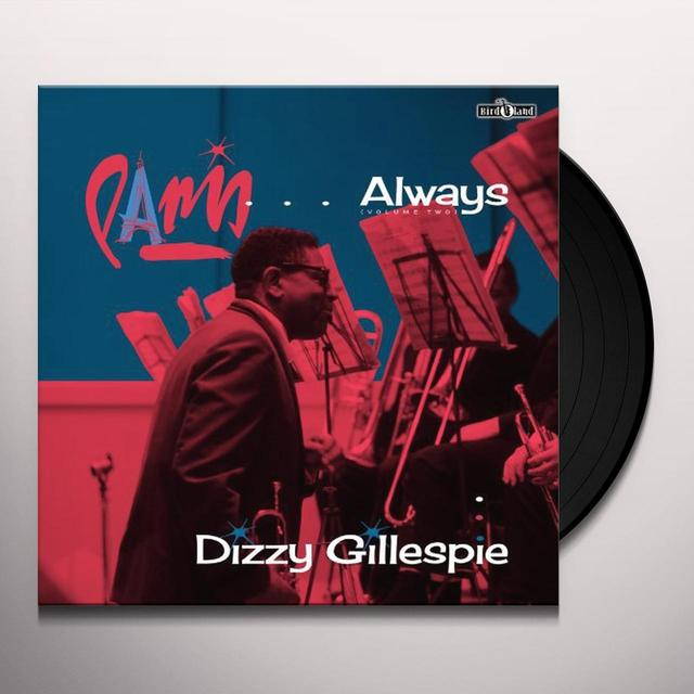Dizzy Gillespie VOL. 2-PARIS ALWAYS Vinyl Record
