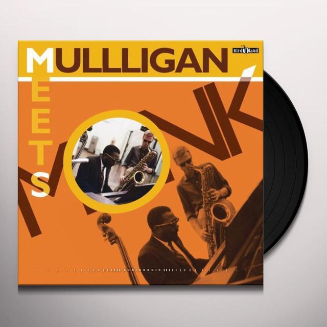 Thelonious Monk MULLIGAN MEETS MONK Vinyl Record - UK Import