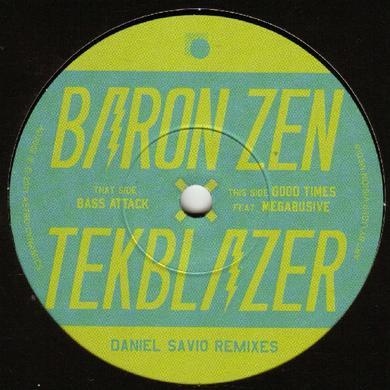 Baron Zen DANIEL SAVIO REMIXES Vinyl Record