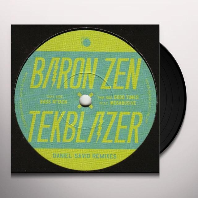 Baron Zen DANIEL SAVIO REMIXES Vinyl Record - UK Import