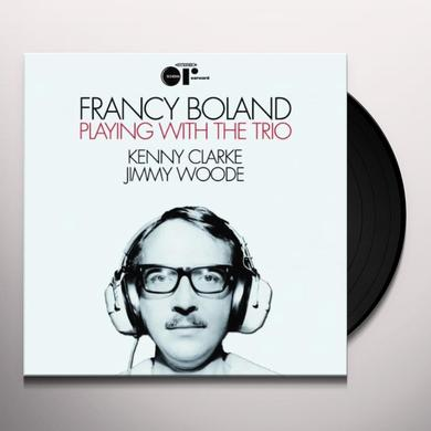 Francy Boland PLAYING WITH THE TRIO (UK) (Vinyl)