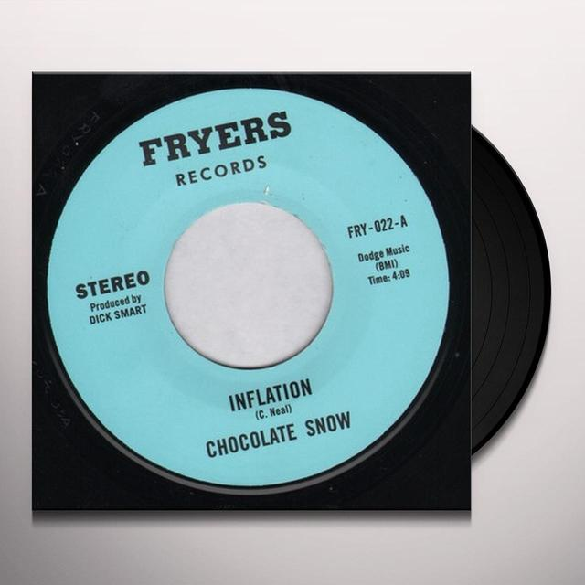 Chocolate Snow INFLATION Vinyl Record - UK Release