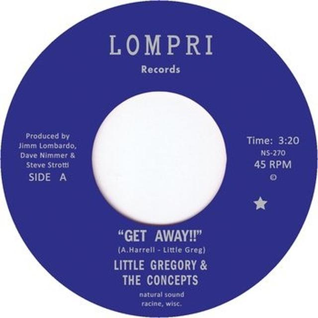 Little Gregory & The Concepts GET AWAY Vinyl Record