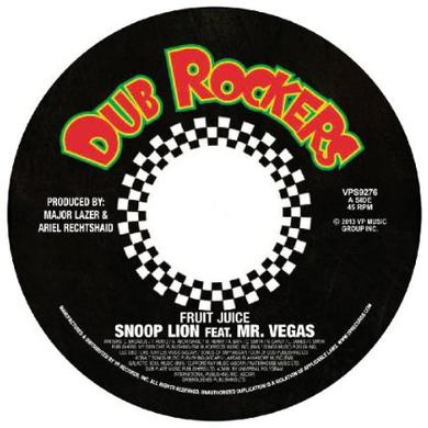 Snoop Dogg FRUIT JUICE / SMOKE THE WEED Vinyl Record