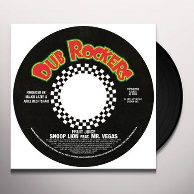 Snoop Dogg FRUIT JUICE / SMOKE THE WEED (GER) Vinyl Record