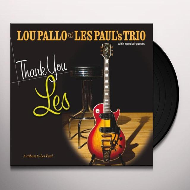 Lou Pallo THANK YOU LES/TRIBUTE TO LES PAUL Vinyl Record
