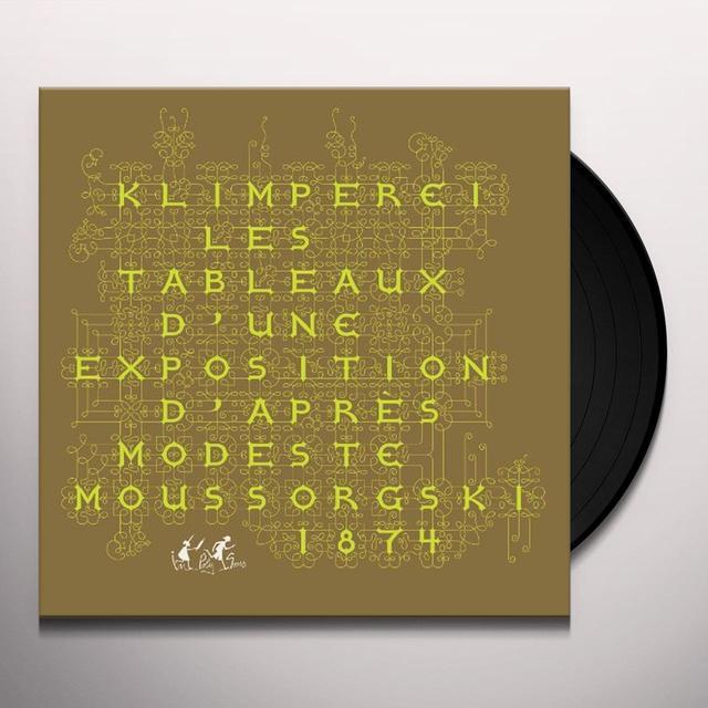 Klimperei LES TABLEAUX D'UNE EXPOSITION D'APR Vinyl Record