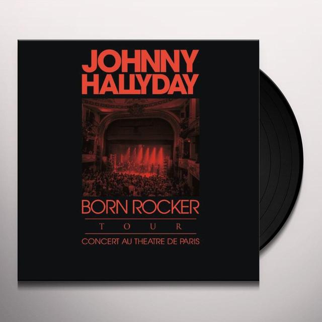 Johnny Hallyday BORN ROCKER TOUR (FRA) Vinyl Record