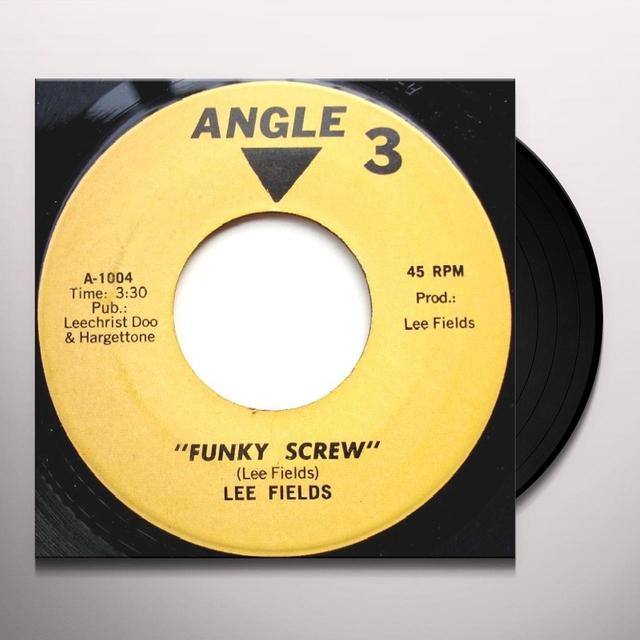 Lee Fields FUNKY SCREW Vinyl Record