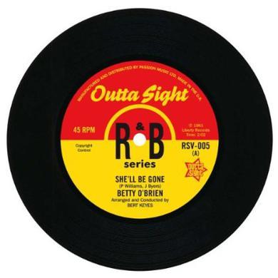 Betty/Maximilian O'Brien SHE'LL BE GONE/THE SNAKE Vinyl Record