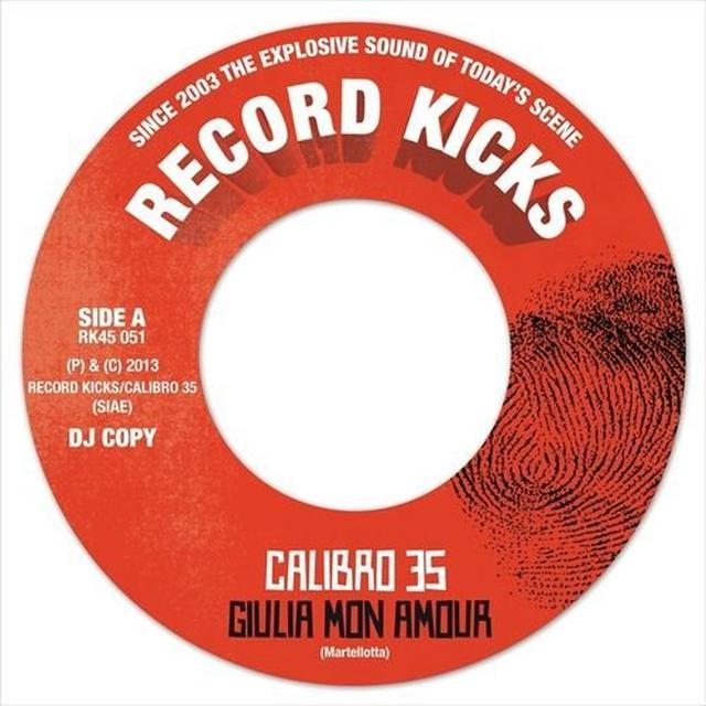 Calibro 35 GIULIA MON AMOUR/NOTTE IN BOVISA Vinyl Record - UK Import