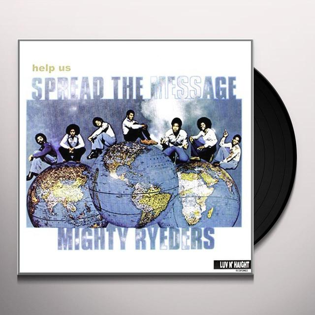 Mighty Ryeders HELP US SPREAD THE MESSAGE (UK) (Vinyl)