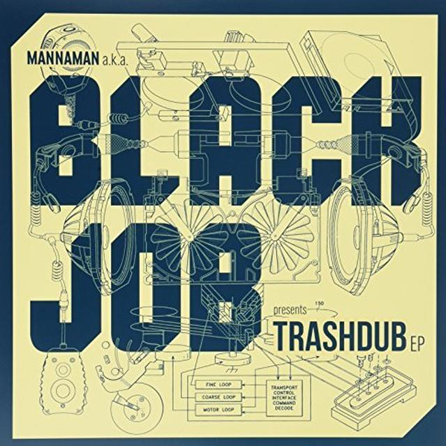 Blackjob TRASHDUB Vinyl Record - UK Import