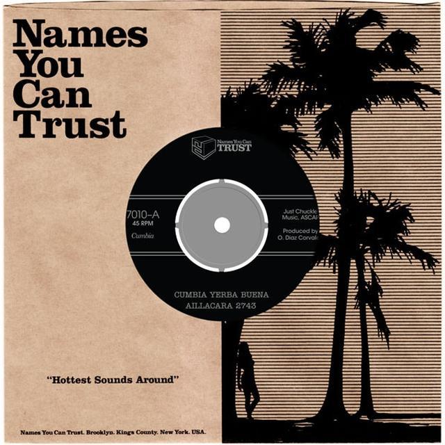 Aillacara 2743 CUMBIA YERBA BUENA Vinyl Record - UK Release