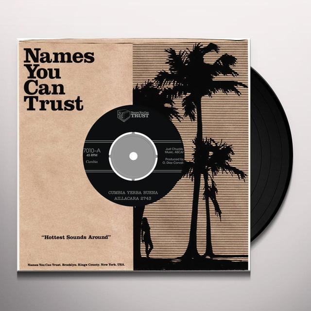 Aillacara 2743 CUMBIA YERBA BUENA Vinyl Record - UK Import