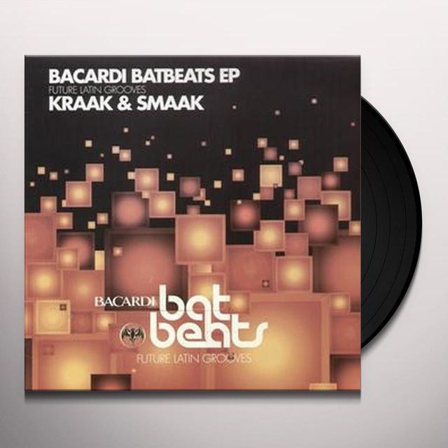 Kraak & Smaak BACARDI BATBEATS EP Vinyl Record - UK Release