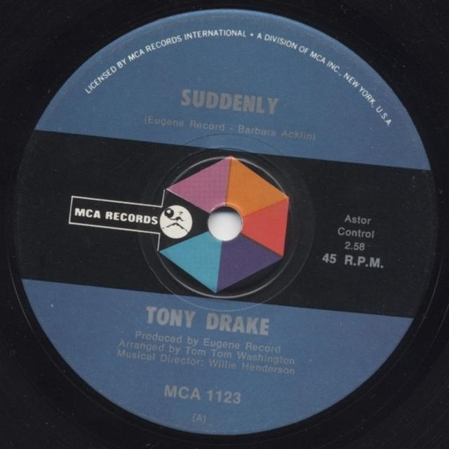 Tony Drake SUDDENLY Vinyl Record - UK Release