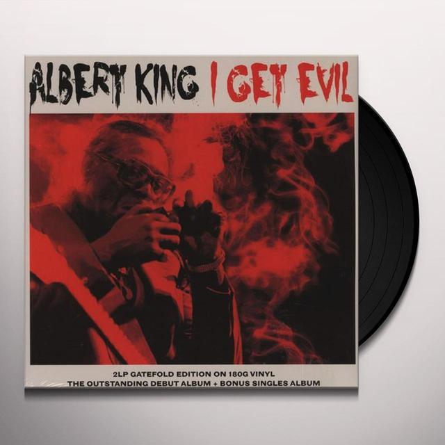 Albert King I GET EVIL Vinyl Record - UK Import