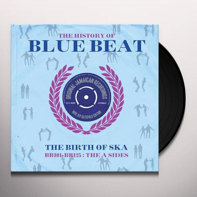 HISTORY OF BLUEBEAT: BB101-BB125 A-SIDES / VARIOUS Vinyl Record