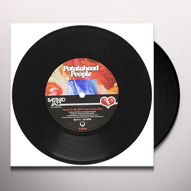 Potatohead People BACK TO MY SHIT/LOVE HZ Vinyl Record - UK Import